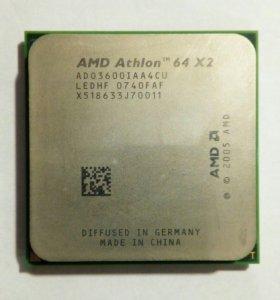 Процессор AMD Athlon 64 x2 3600+ AM2