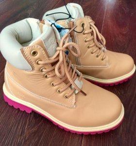 Новые! Ботинки для девочки Acoola