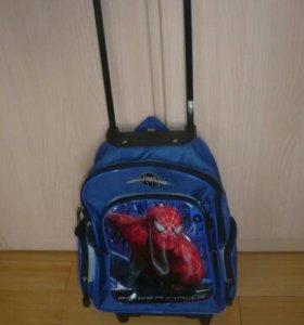 Рюкзак на колесиках Человек Паук