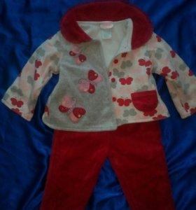 Теплый костюмчик на малыша