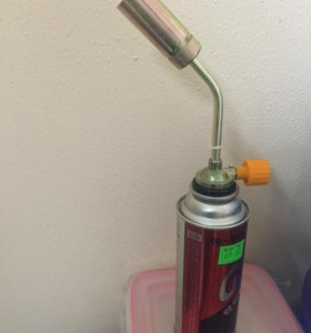 Горелка с газовым баллончиком