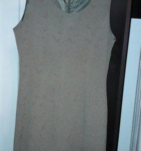 Женский комплект(платье и удлинённый пиджак).
