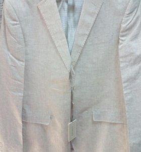Пиджак лен 100%