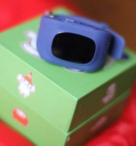 Часы Детские телефон Q50 синие