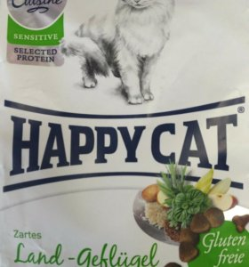Happy cat, корм для кошек