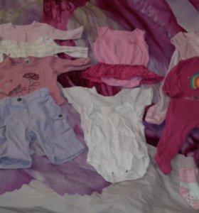 Вещи для девочки пакетом или все по 100