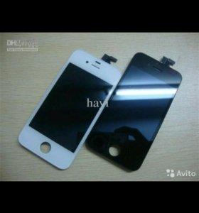 Сенсорный экран на айфон 4s