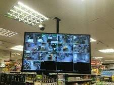 Установка камер наблюдения
