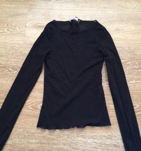 Полупрозрачная блузка promod