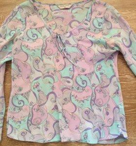 Легкая блузка dorothy perkins
