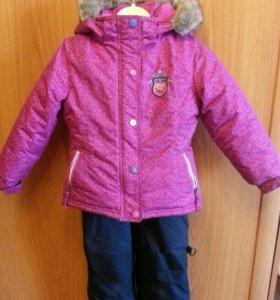 Зимний костюм для девочки Peluche