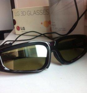 Трёхмерные очки LG 3D glasses