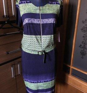 Платье новое вискоза 48р