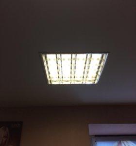Светильники офисные 10 шт.