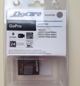 Аккумулятор на GoPro