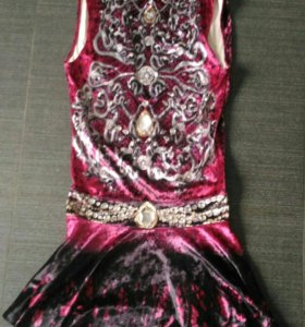 Платье бархат бренд