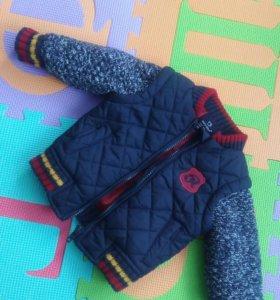 Куртка 0-3 месяца