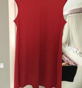 Платье красное mohito