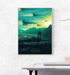 Постер STAR WARS в раме