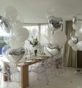 Стильные сеты из воздушных шаров