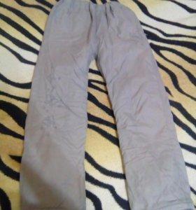 Болоневые штаны, для девочки
