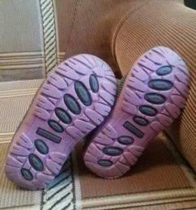Демисезонные ботинки Котофей 23 размера