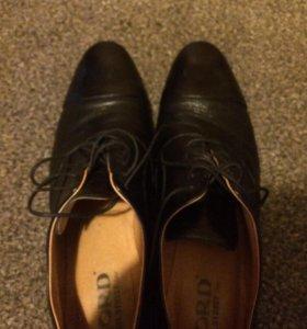 Итальянские туфли , натур.кожа.Одевали один раз