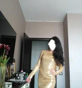 Платье/паетки