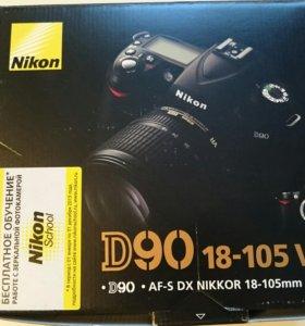 Зеркальный фотоаппарат-Nikon D90