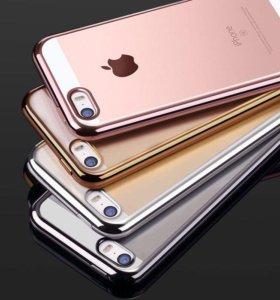 Силиконовые чехлы для iPhone 5