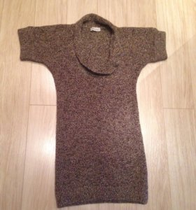 Платье для беременных теплое