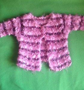 ‼Красивые ,тёплые кофточки,свитера на девочку