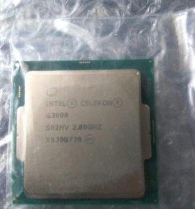 Intel celeron g3900 + кулер