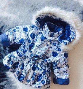 Куртка для девочки 74-86 см