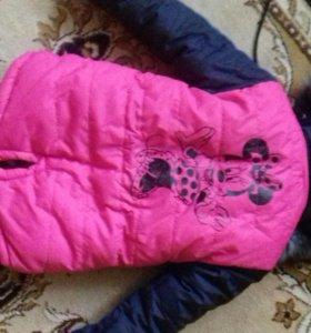 Куртка зимняя ❄⛄на 2-3 года