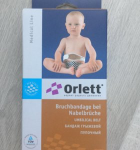 Бандаж грыжевой пупочный Orlett