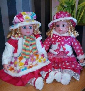 Куклы НОВЫЕ говорящие 60 см