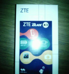 Телефон ZTE Blade X3 Продам или обменяю на айфон 5