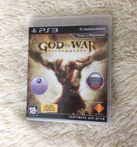 God of War Восхождение не для продажи игры PS3