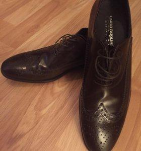 Туфли мужски, натуральная кожа, новые!