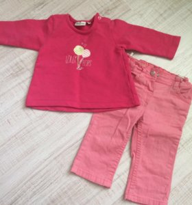 Кофточка и джинсики Tom Tailor kids