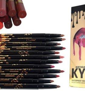 Карандаши для губ от Kylie
