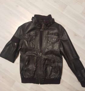 Натуральная кожанная куртка