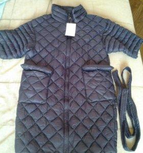 Пальто демисезонное новое (куртка)