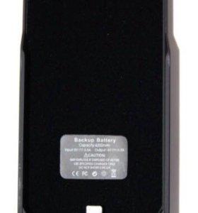 Чехол АКБ iPhone 5/5S 4200 mAh (5GB) черный
