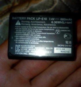 Батарейка на Canon