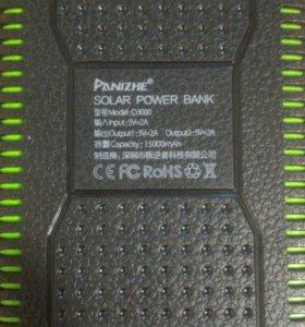 Powerbank с солнечной батареей