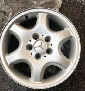 Оригинальные разноширокие диски Mercedes R16