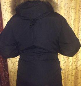 Куртка Пуховик Аляска очень теплый новый