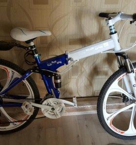 Новый велосипед на литье